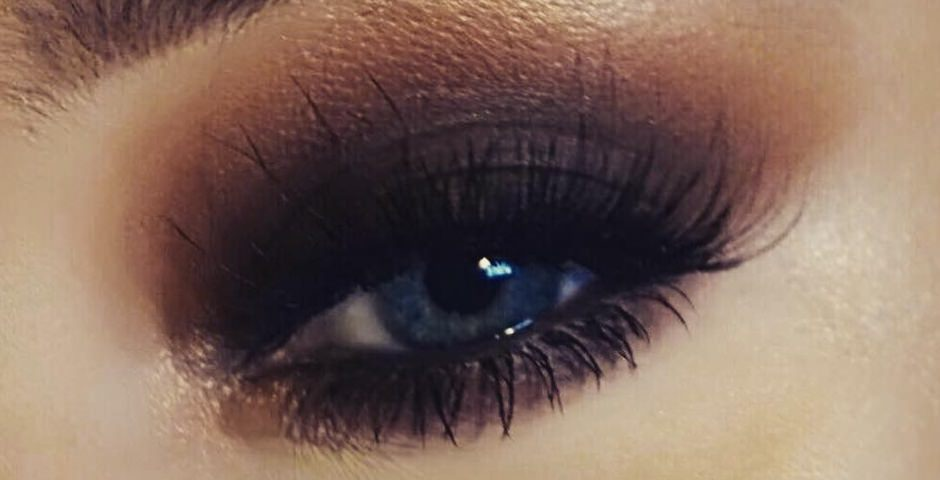 Smokey eyes bronzo