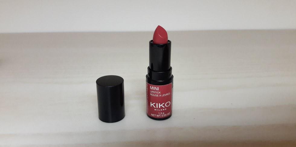 Mini lipstick rosy hibiscus Kiko