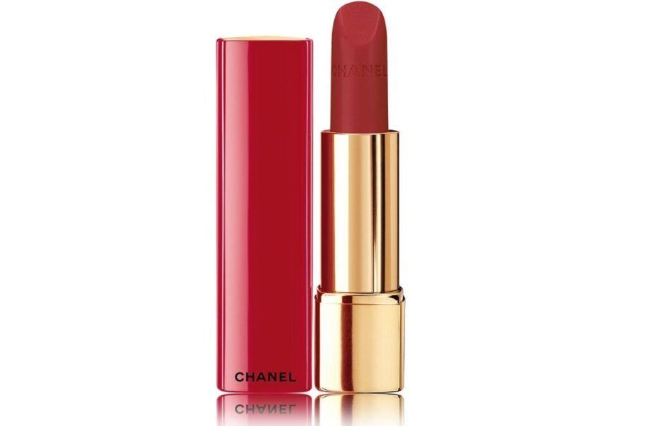 Chanel Allure Velvet rossetto matte rosso borgogna luminoso