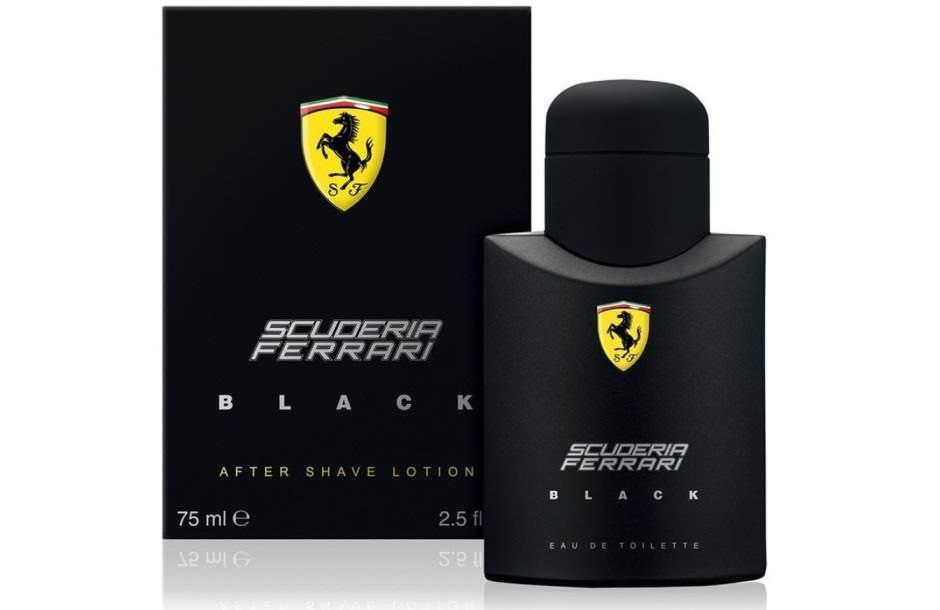 Scuderia Ferrari Black dopobarba