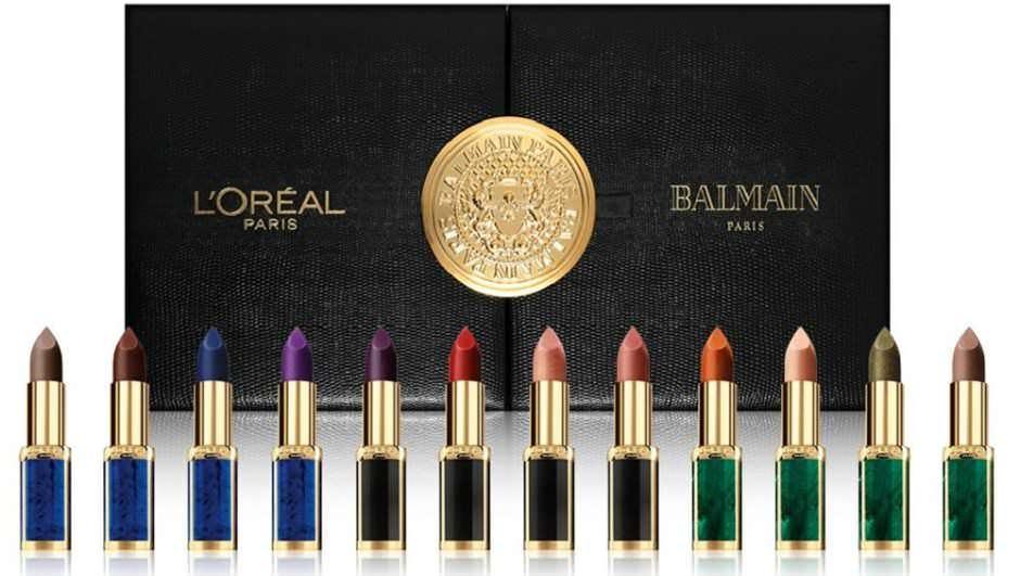L'Oreal Paris per Balmain cofanetto 12 rossetti Color Riche