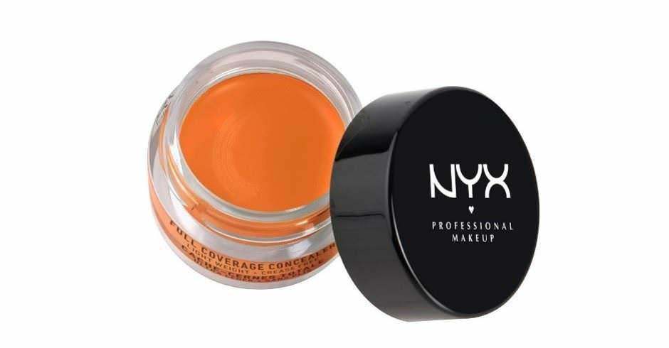 Correttore arancione NYX per occhiaie molto scure