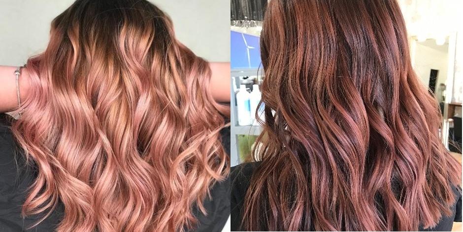 Balayage oro rosa: sfumature di colore bellissime che devi provare