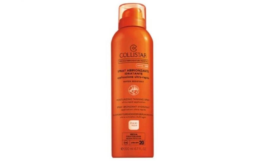Spray abbronzante Collistar spf20