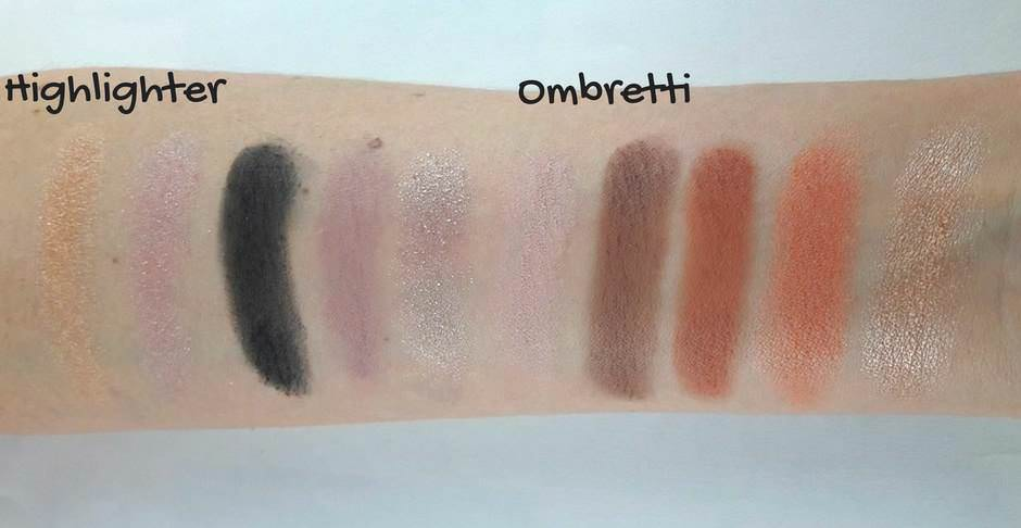 Palette Total Temptation Maybelline swatches