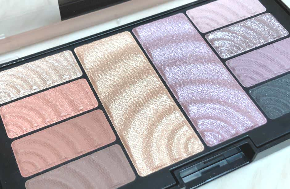 Palette Maybelline ombretti e highlighter Total Temptation