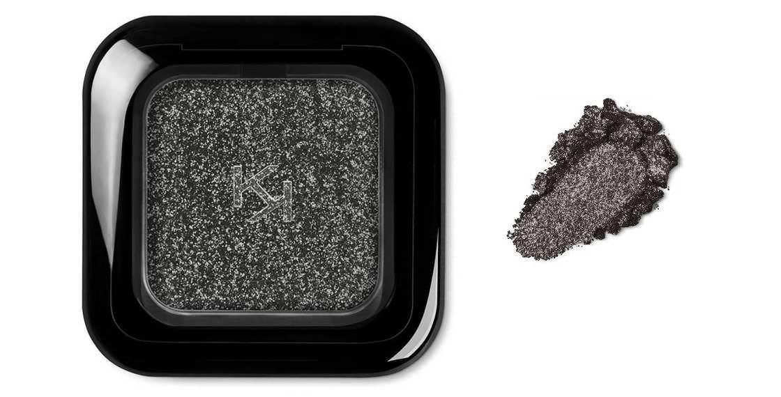 Collezione Kiko Estate 2018 ombretto glitter 06 sparkling graphite