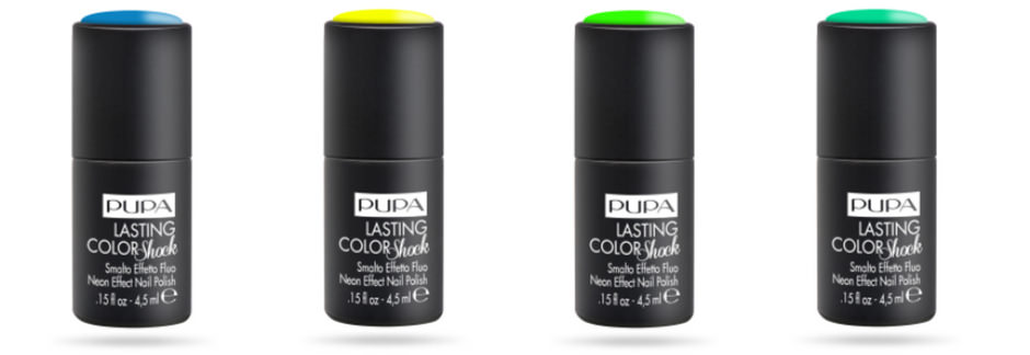 Smalti fluo Pupa Lasting Color Shock Estate 2018