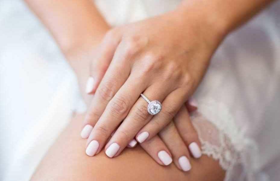 Unghie sposa 2018 naturali smalto nude