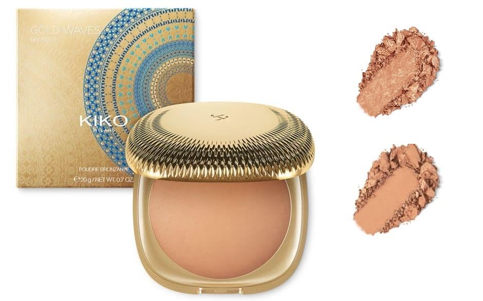 Terra abbronzante Gold Waves saldi Kiko 2018