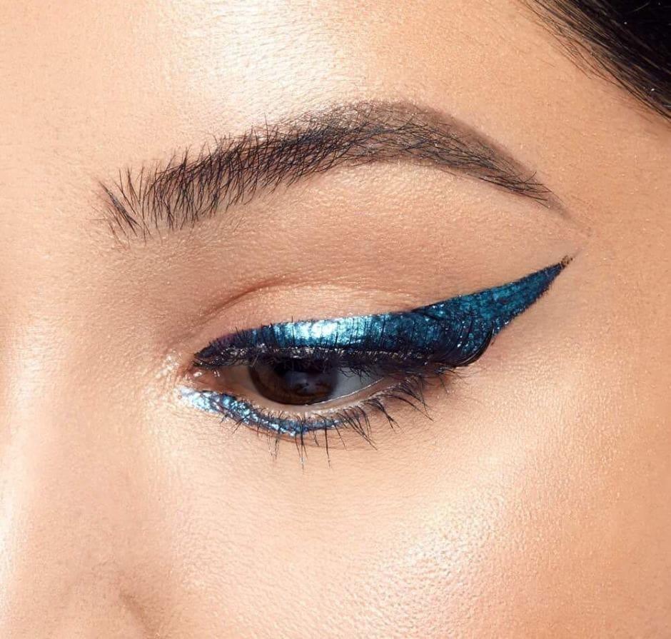 Eyeliner blu Autunno 2018