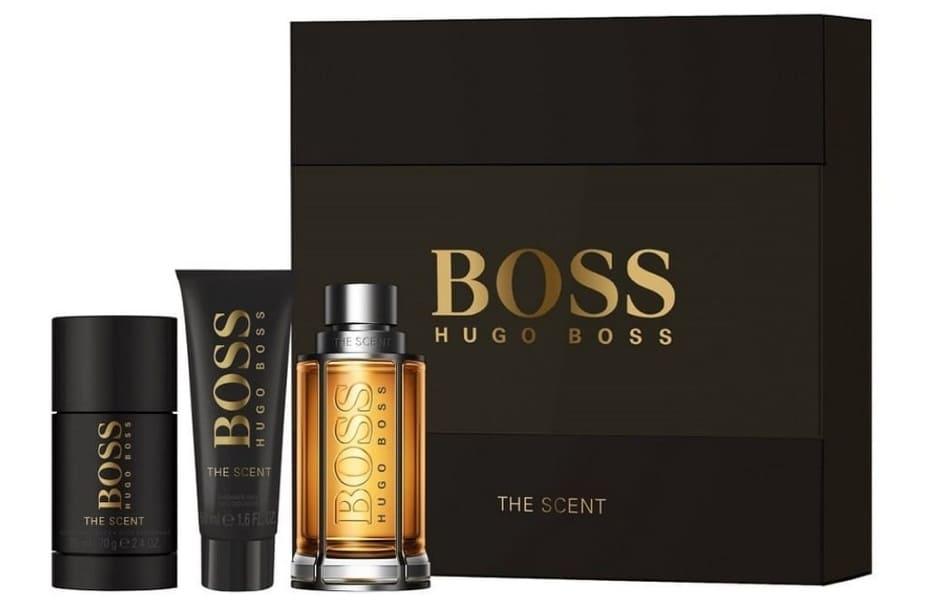 Idee regalo beauty uomo Natale 2018 cofanetto Ugo Boss The Scent