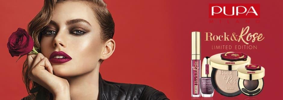 Rock&Rose collezione Pupa make up Natale 2018 in edizione limitata