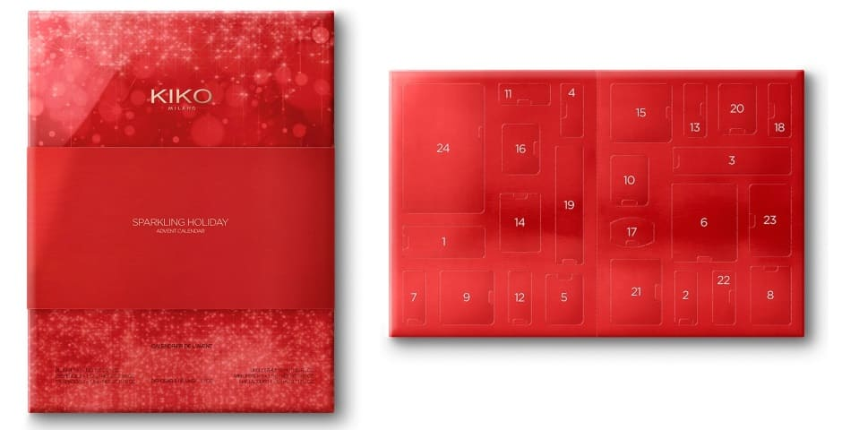 Kiko Sparkling Holiday Collection calendario dell'avvento