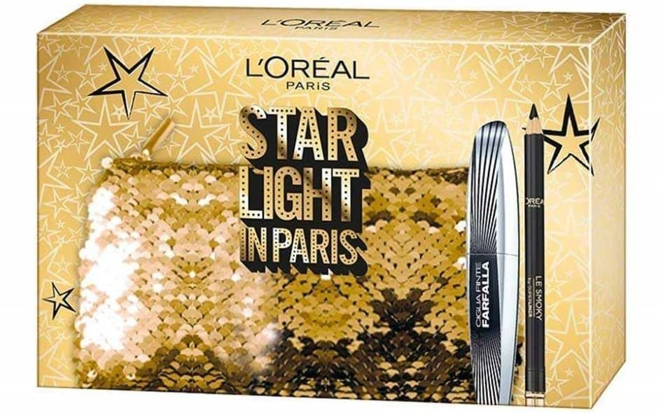 Cofanetto regalo L'Oréal Natale 2018 Star Light in Paris