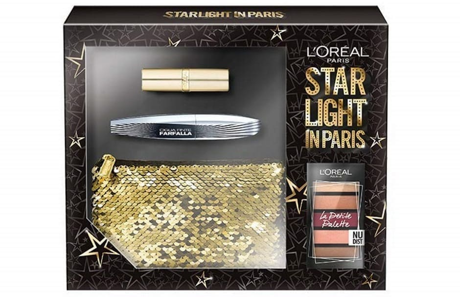 Cofanetto Starlight in Paris L'Oréal Natale 2018