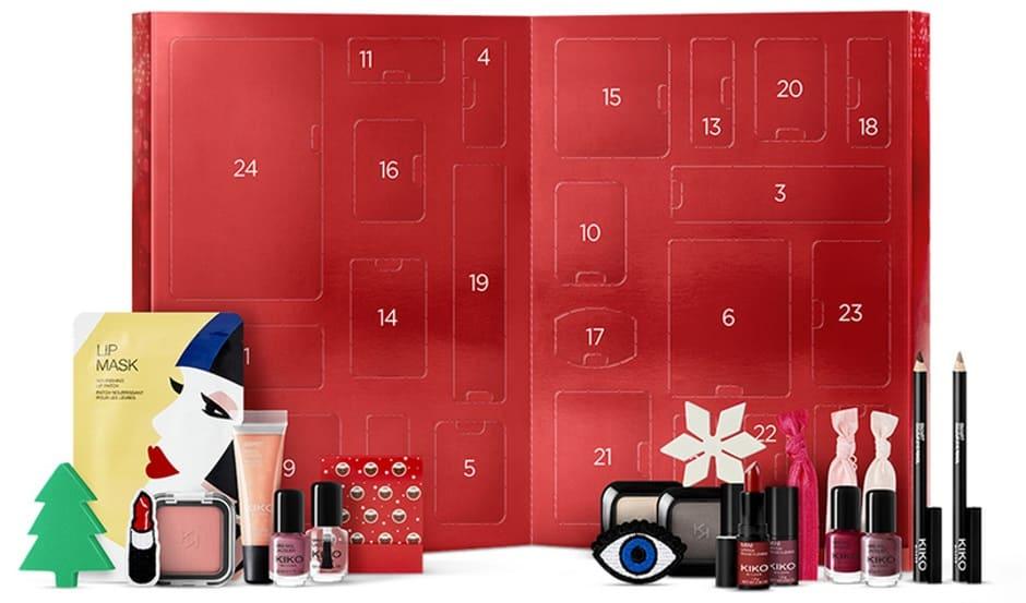 Idee regalo Kiko Calendario dell'Avvento Natale 2018