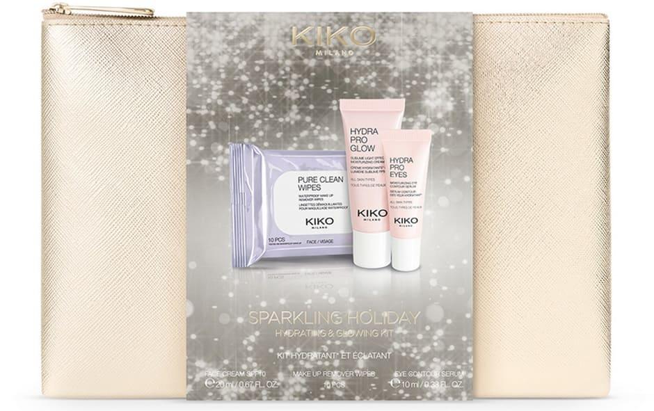 Natale idee regalo Kiko 2018 pochette skin care