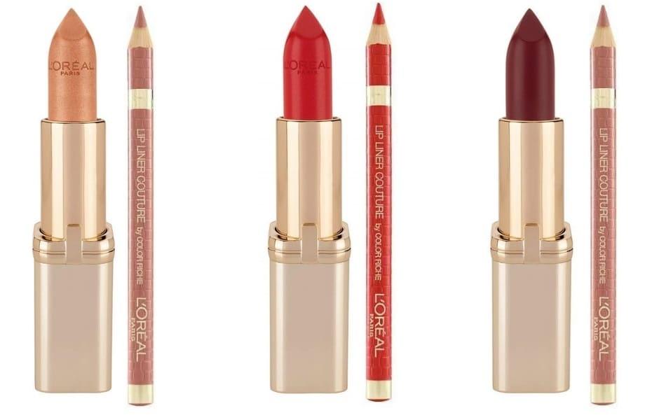 Lip Kit L'Oréal Natale 2018 rossetto e matita