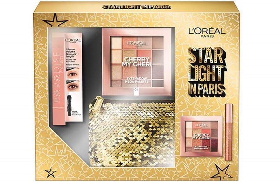 L'Oréal Natale 2018 Starlight in Paris cofanetto regalo A Me Gli Occhi