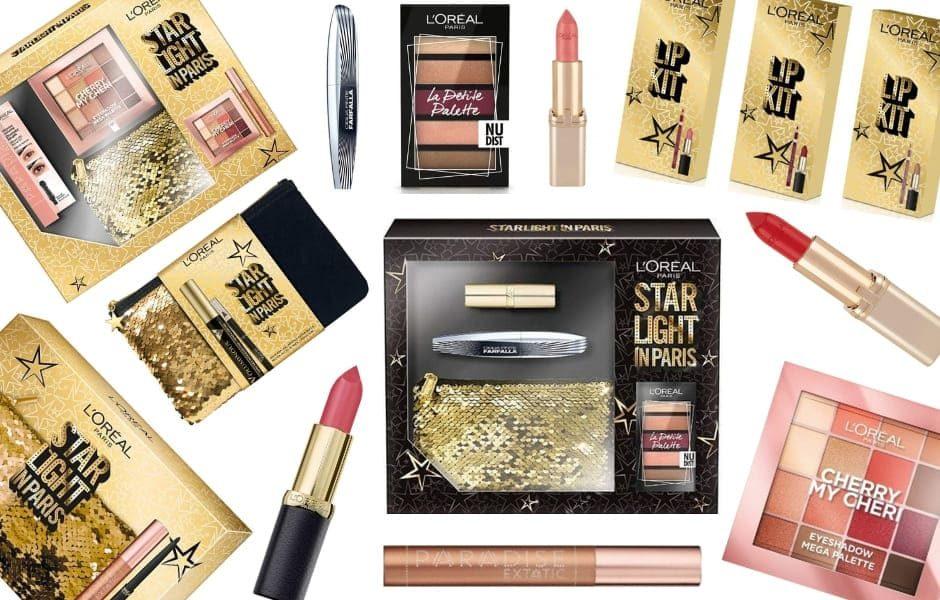 L'Oréal Natale 2018 Starlight in Paris Pochette e Cofanetti da regalare