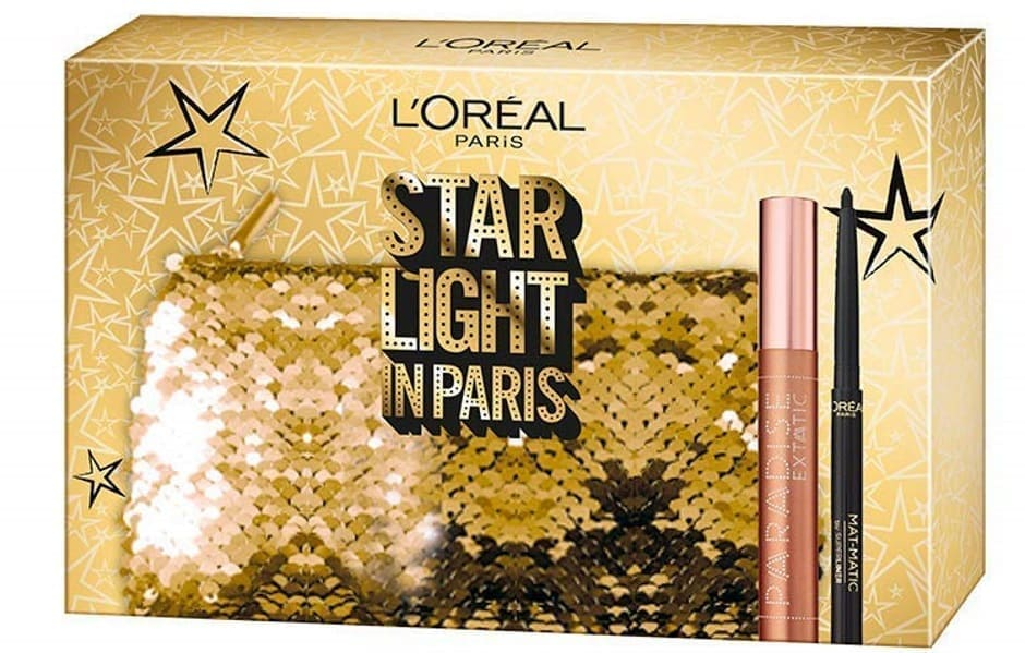 Natale 2018 L'Oréal Starlight In Paris mascara volumizzante e matita