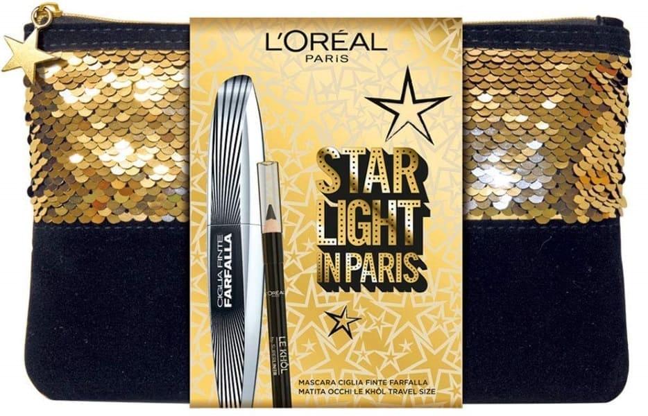 Pochette L'Oréal Natale 2018 Ciglia Finte Farfalla