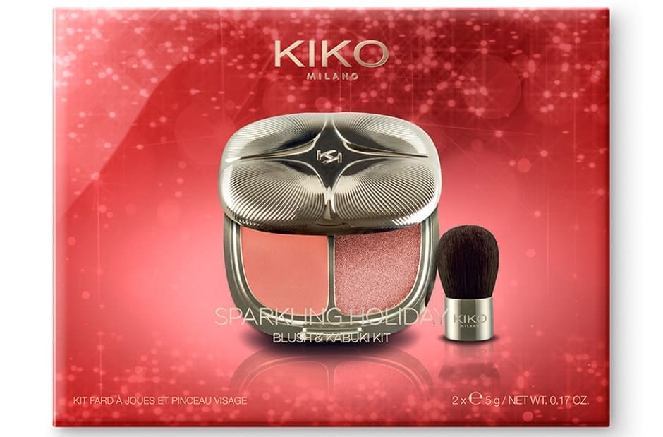 Idee regalo Kiko blush e pannello Kabuki Natale 2018
