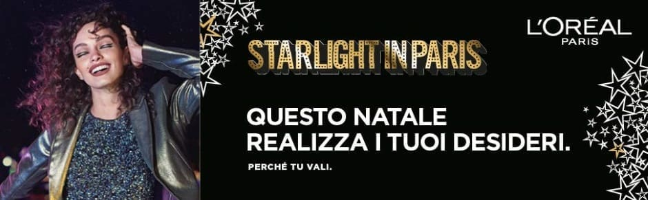 Starlight in Paris L'Oréal natale 2018 idee regalo