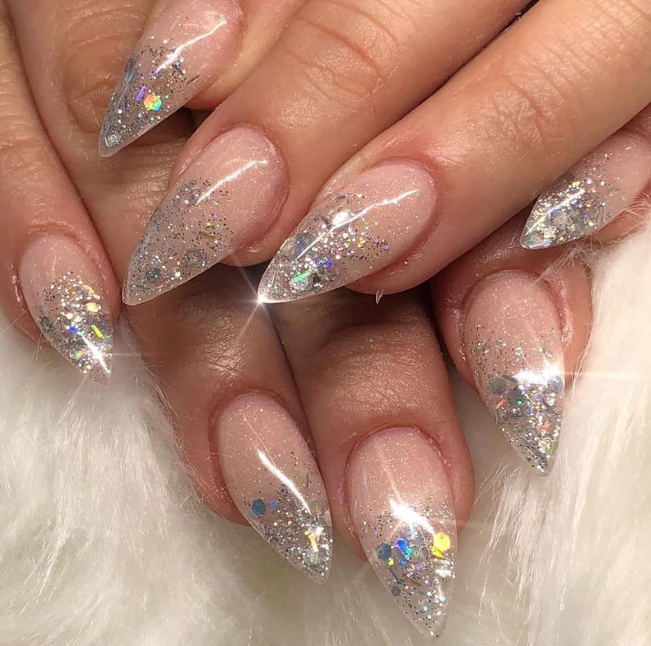 Crystal nails unghie Natale e Capodanno 2019