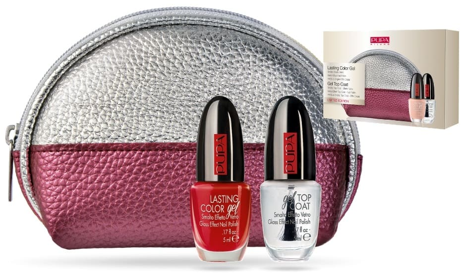 Idee regalo Pupa Natale 2018 pochette smalto e top coat