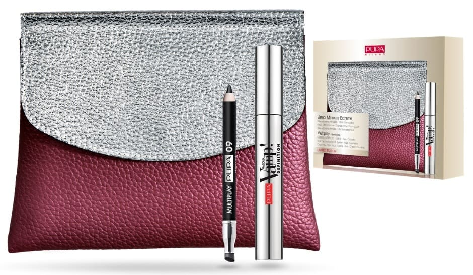 Pochette Natale Pupa make up mascara + matita