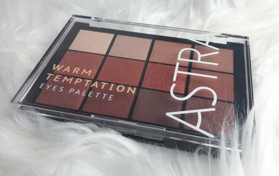 Astra Warm Temptation Palette