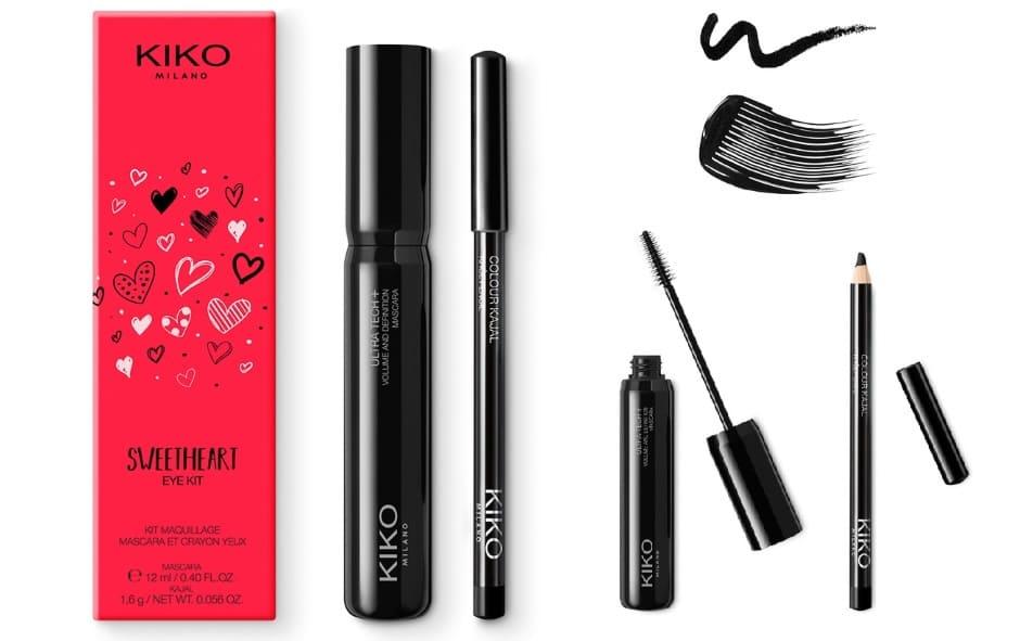 Kit occhi Sweetheart Kiko mascara e matita
