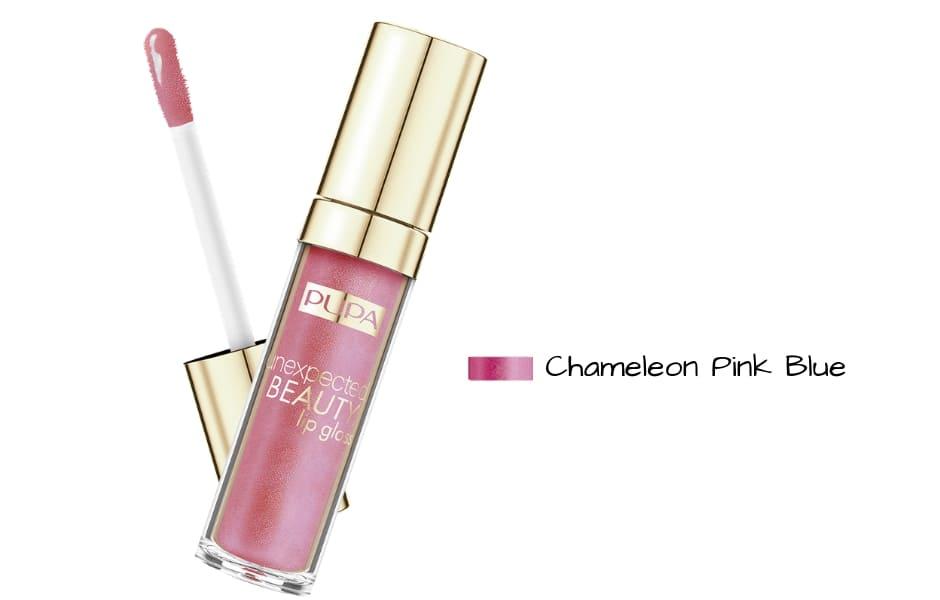 Collezione Pupa Primavera 2019 lipgloss Chameleon Pink Blue