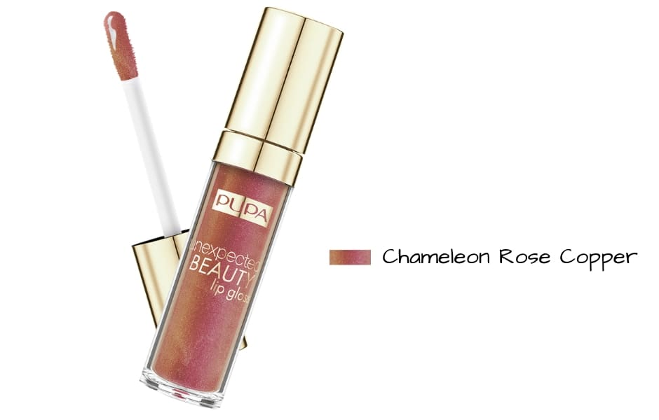 Collezione 2019 Pupa Unexpected Beauty lipgloss Rose Copper