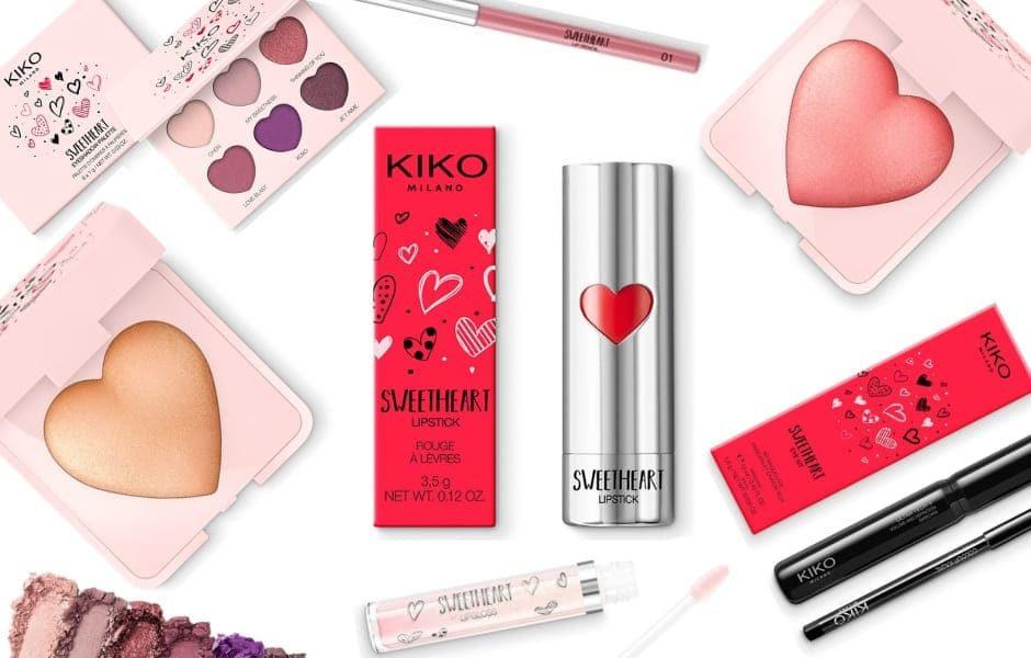 Sweetheart Kiko collezione San Valentino 2019