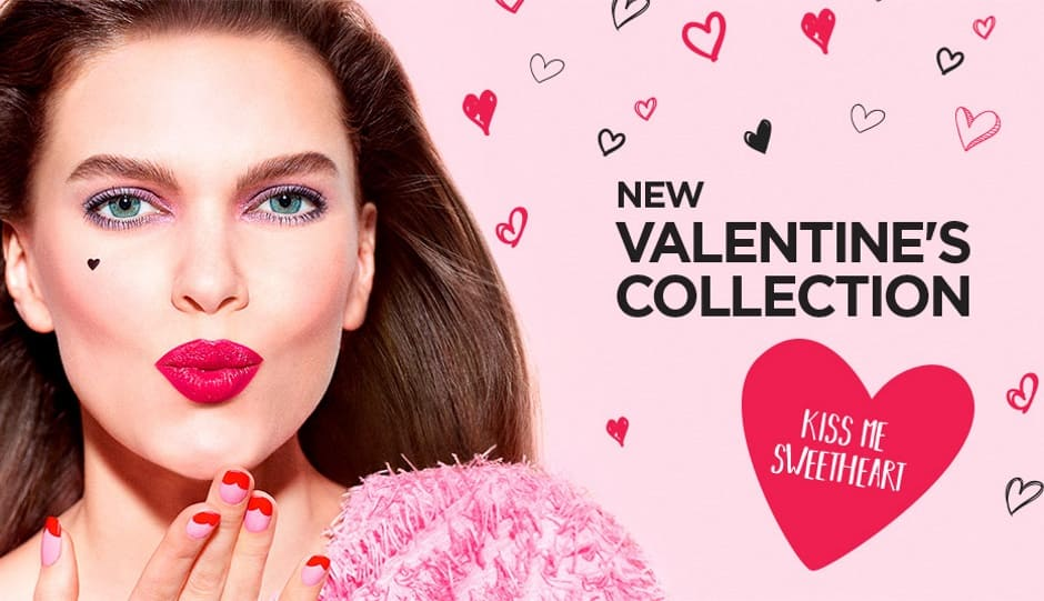 Collezione trucco San Valentino 2019 Kiko Sweetheart