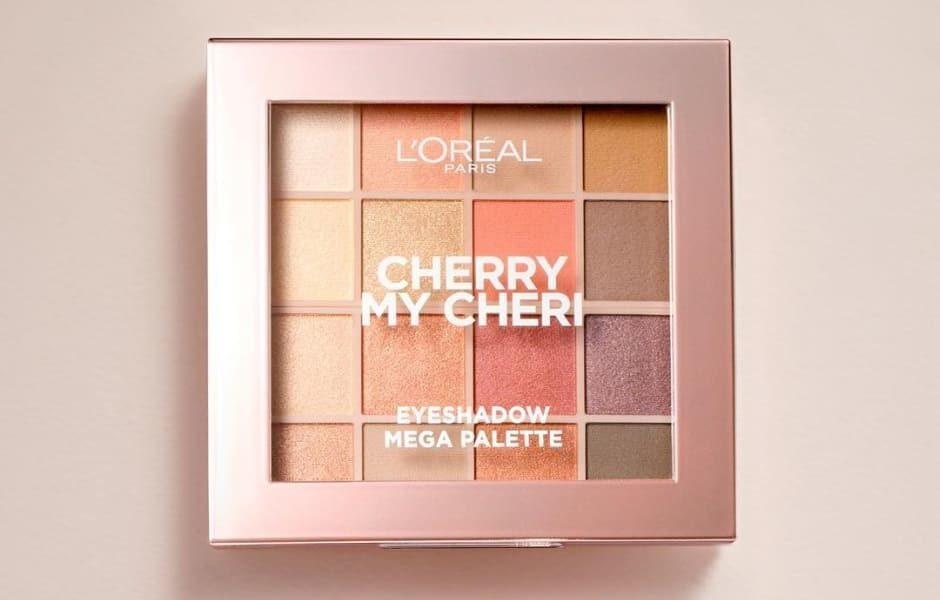 Palette Cherry My Cheri L'Oréal | Recensione, foto e swatch
