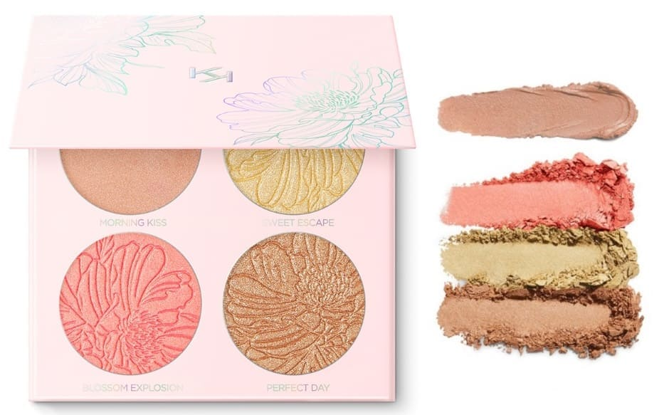 Palette illuminanti Kiko Waterflower Magic