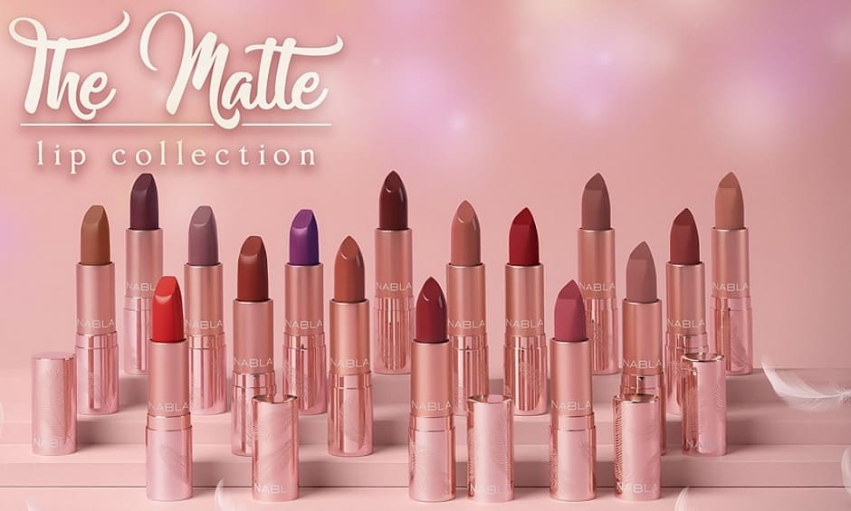 Rossetti matte Nabla The Matte Lip Collection