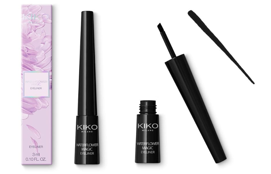 Waterflower Magic Kiko eyeliner con applicatore obliquo