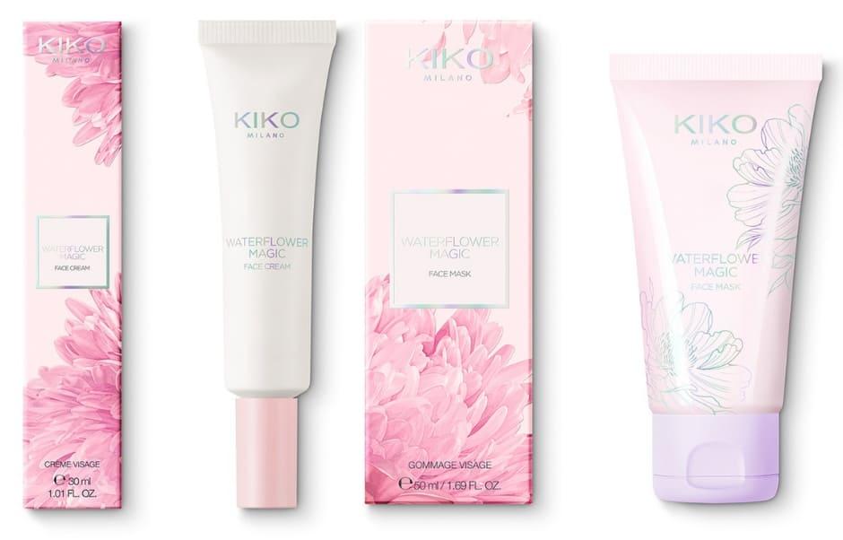 Collezione trucco Primavera 2019 Waterflower Magic Kiko crema e maschera viso