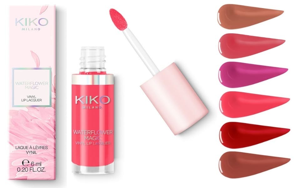 Kiko Waterflower Magic Vinyl Lip Lacquer