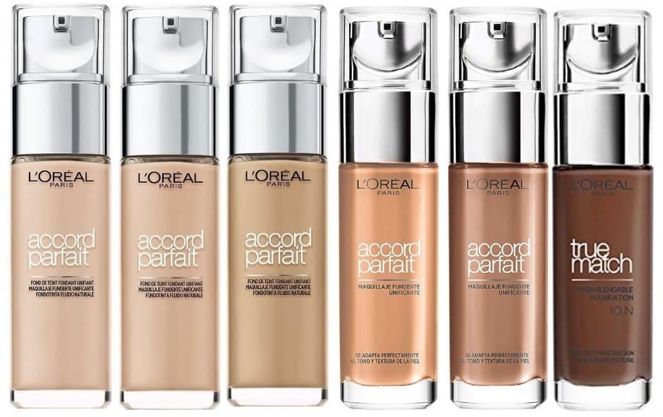 Fondotinta liquido Accord Parfait L'Oréal
