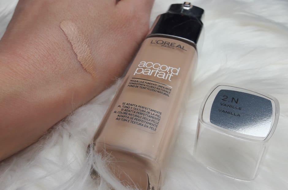 Recensione fondotinta Accord Parfait L'Oréal