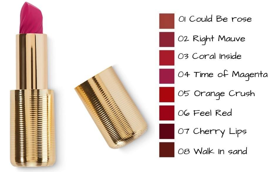Rossetti cremosi Kiko Ocean Feel Lipstick