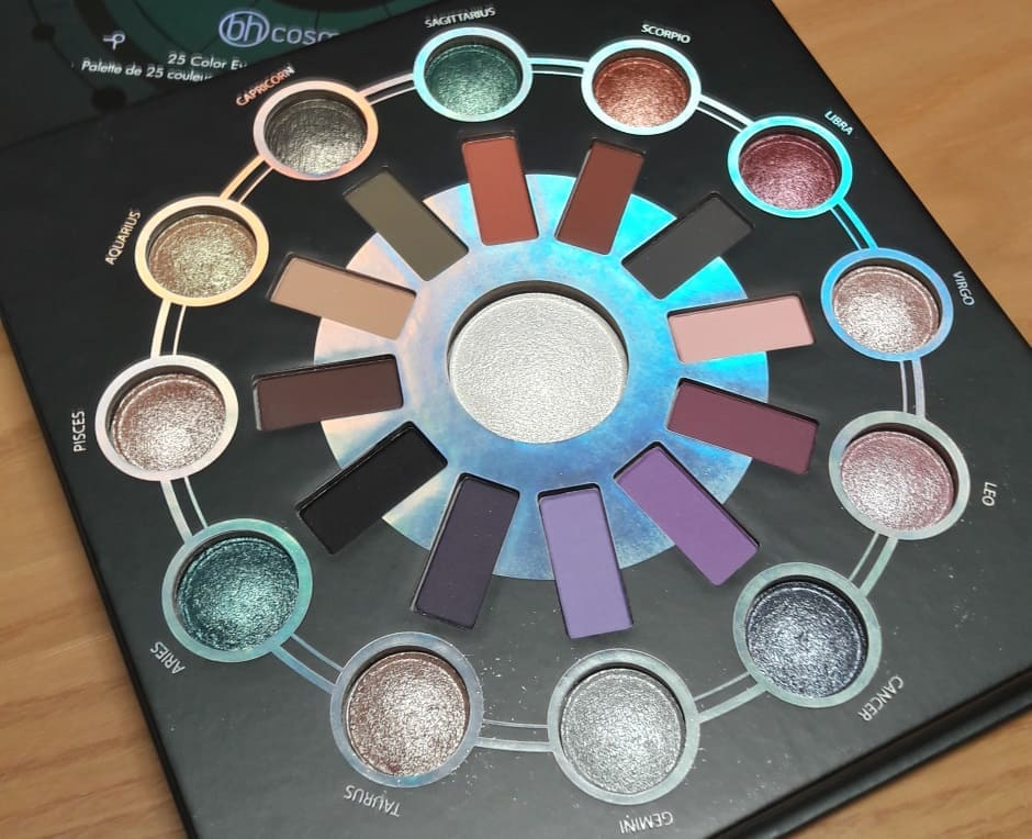 Bh Zodiac palette ombretti e highlighter