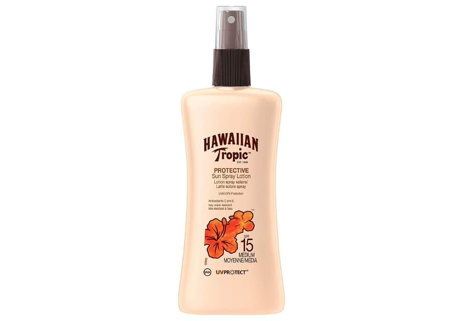 Hawaiian Tropic spray solare spf15