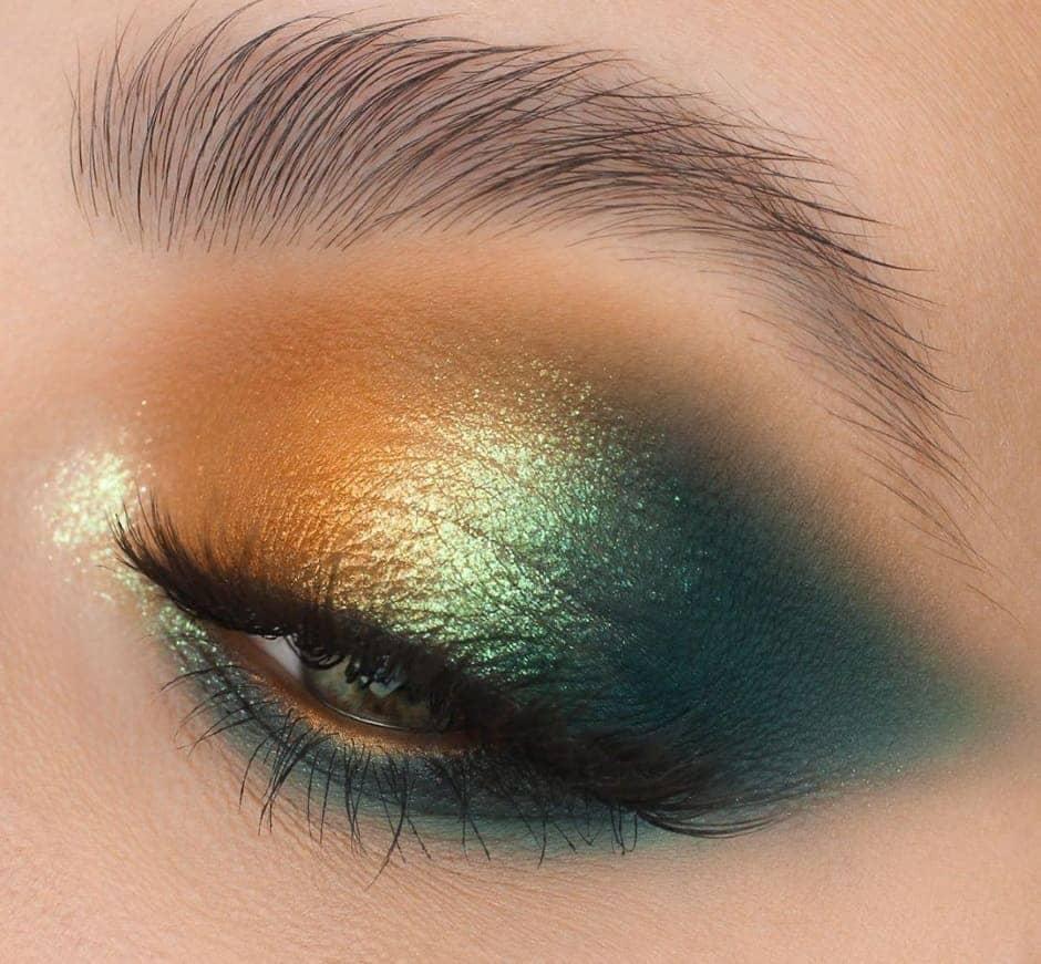 Ombretto verde e oro Nabla Cosmetics
